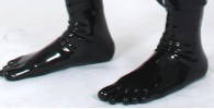 Latex Zehensocken