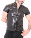 Tom Leather Look Oberteil