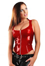 Latex Bustier Top